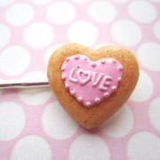 Love Cookie Hair Clip